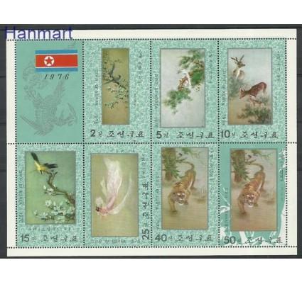Znaczek Korea Północna 1976 Mi ark 1544-1550 Czyste **