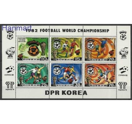 Znaczek Korea Północna 1981 Mi ark 2099-2104 Czyste **