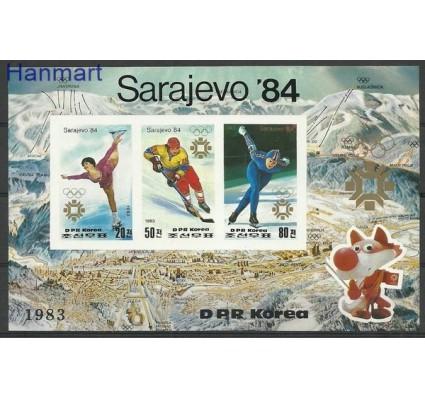 Znaczek Korea Północna 1983 Mi bl 150B Czyste **