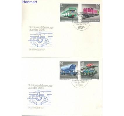 Znaczek NRD / DDR 1979 Mi 2414-2417 FDC