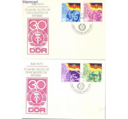 Znaczek NRD / DDR 1979 Mi 2458-2461 FDC