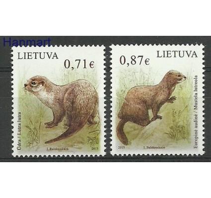 Znaczek Litwa 2015 Mi 1182-1183 Czyste **