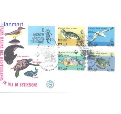Znaczek Włochy 1978 Mi 1603-1606 FDC