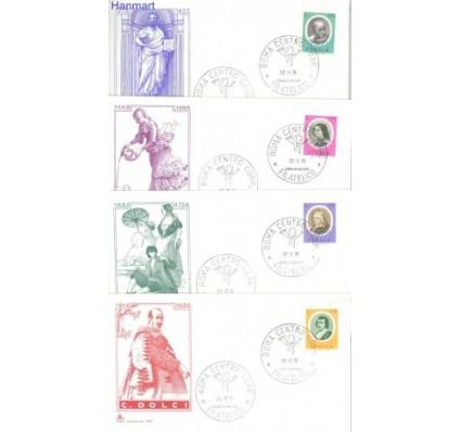 Znaczek Włochy 1976 Mi 1549-1550+1552-1553 FDC