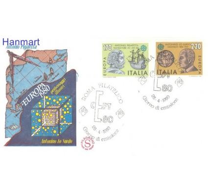 Znaczek Włochy 1980 Mi 1686-1687 FDC
