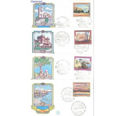 Znaczek Włochy 1980 Mi 1694-1697 FDC