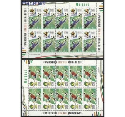 Znaczek Mołdawia 2010 Mi ark 706-707 Czyste **