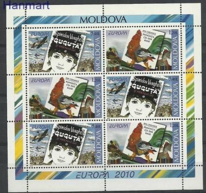 Znaczek Mołdawia 2010 Mi h-blatt 12 Czyste **