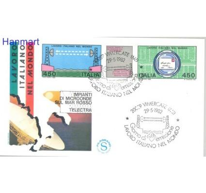 Znaczek Włochy 1982 Mi 1800-1801 FDC