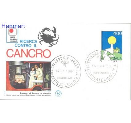 Znaczek Włochy 1983 Mi 1821 FDC