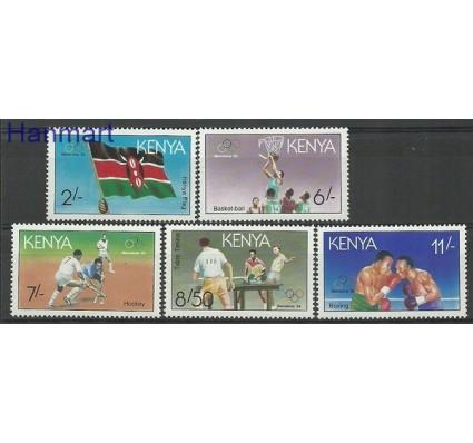 Znaczek Kenia 1991 Mi 536-540 Czyste **