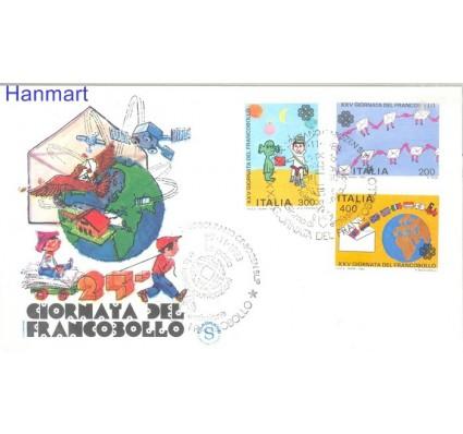 Znaczek Włochy 1983 Mi 1864-1866 FDC