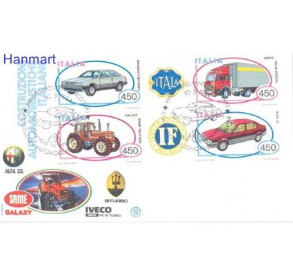 Znaczek Włochy 1984 Mi 1872-1875 FDC