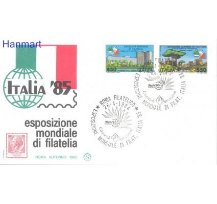 Znaczek Włochy 1984 Mi 1883-1884 FDC
