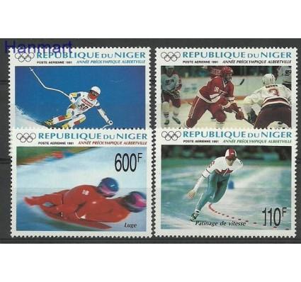 Znaczek Niger 1991 Mi 1122-1125 Czyste **