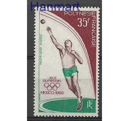 Znaczek Polinezja Francuska 1968 Mi 89 Czyste **