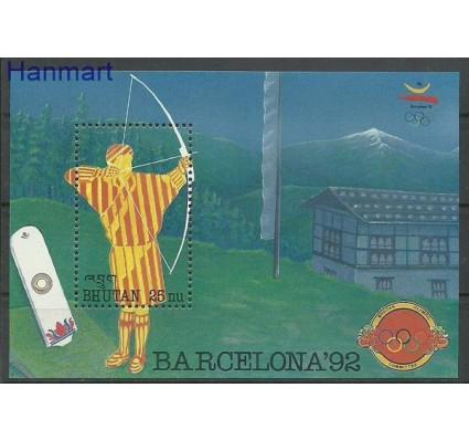 Znaczek Bhutan 1992 Mi bl 342 Czyste **