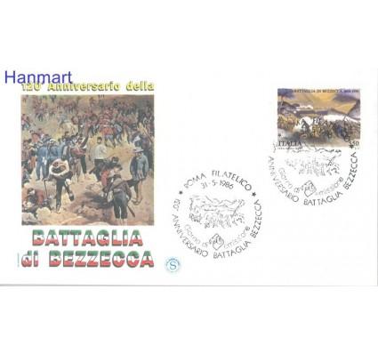 Znaczek Włochy 1986 Mi 1976 FDC