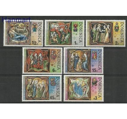 Znaczek Dominika 1977 Mi 552-558 Czyste **
