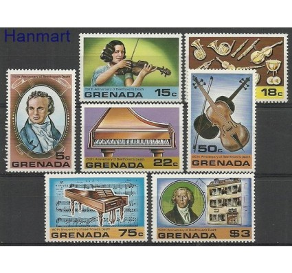Znaczek Grenada 1978 Mi 904-910 Czyste **