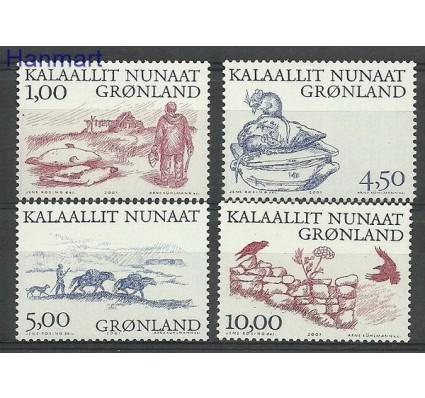 Znaczek Grenlandia 2001 Mi 361-364 Czyste **
