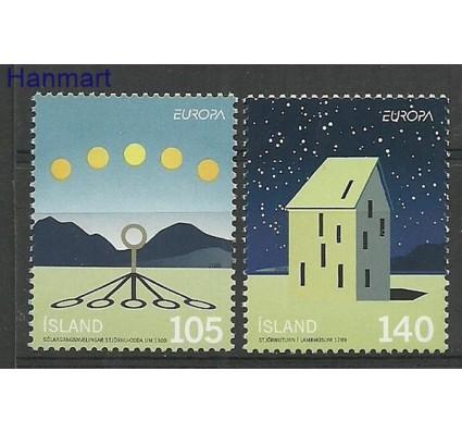 Znaczek Islandia 2009 Mi 1242-1243 Czyste **