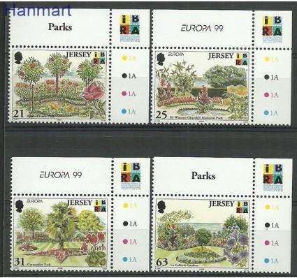 Znaczek Jersey 1999 Mi zf 884-887 Czyste **