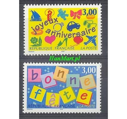 Francja 1997 Mi 3188-3189 Czyste **