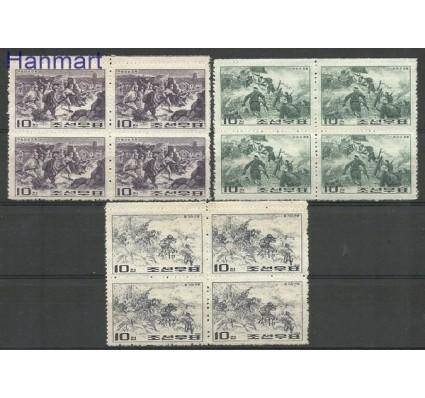 Znaczek Korea Północna 1965 Mi 574-576 Czyste **