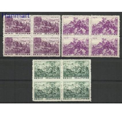 Znaczek Korea Północna 1966 Mi 714-716 Czyste **