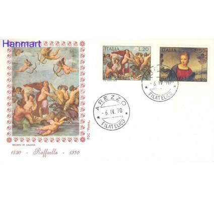 Znaczek Włochy 1970 Mi 1305-1306 FDC