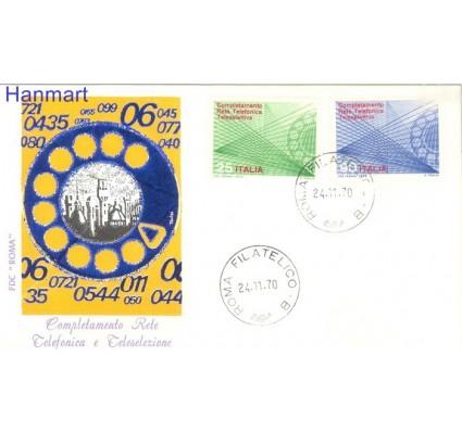 Znaczek Włochy 1970 FDC