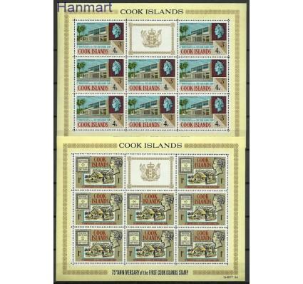 Znaczek Wyspy Cooka 1967 Mi 148-151 Czyste **