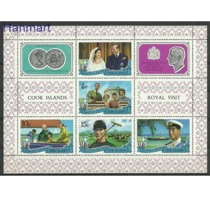 Znaczek Wyspy Cooka 1971 Mi bl 9 Czyste **