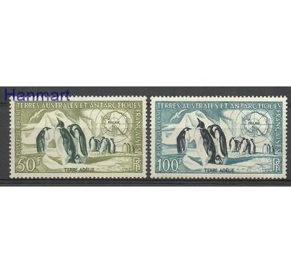 Znaczek Francuskie Terytoria Południowe i Antarktyczne 1956 Mi 8-9 Z podlepką *