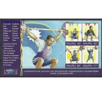 Znaczek Nauru 1998 Mi bl 19 Czyste **