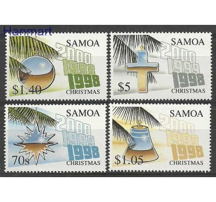 Znaczek Samoa 1998 Mi 890-893 Czyste **