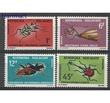 Znaczek Madagaskar 1966 Mi 546-549 Czyste **