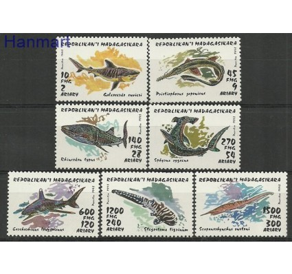 Znaczek Madagaskar 1993 Mi 1527-1533 Czyste **