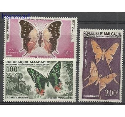 Znaczek Madagaskar 1960 Mi 457-459 Z podlepką *