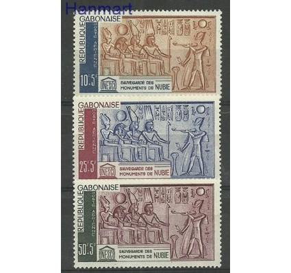 Znaczek Gabon 1964 Mi 193-195 Z podlepką *