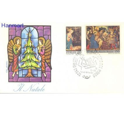 Znaczek Włochy 1970 Mi 1328-1329 FDC