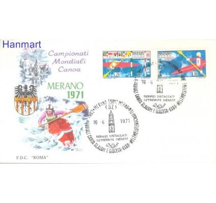 Znaczek Włochy 1971 Mi 1339-1340 FDC