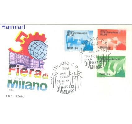 Znaczek Włochy 1972 FDC