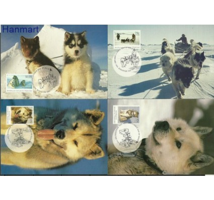 Znaczek Australijskie Terytorium Antarktyczne 1994 Mi 98-101 Karta Max