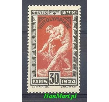 Znaczek Francja 1924 Mi 171 Z podlepką *