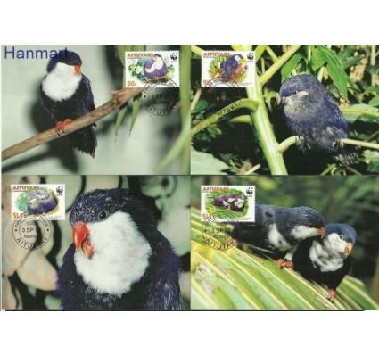 Znaczek Aitutaki 2002 Mi 772-775 Karta Max