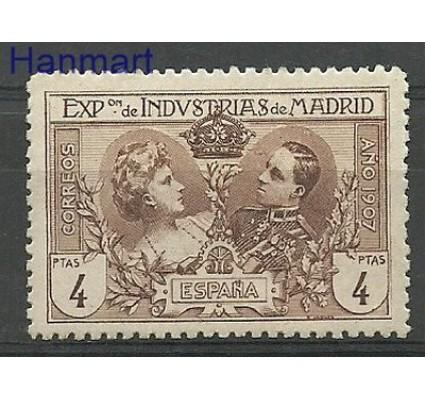 Znaczek Hiszpania 1907 Mi AIf Z podlepką *