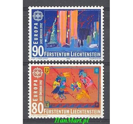 Znaczek Liechtenstein 1991 Mi 1033-1034 Czyste **