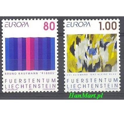 Znaczek Liechtenstein 1993 Mi 1054-1055 Czyste **